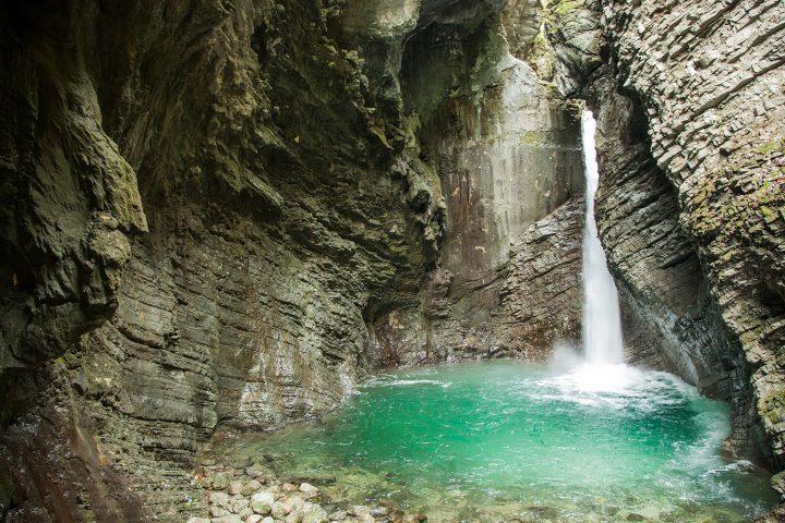 Kozjak Falls in Soča Valley | Photo: Rožle Bregar
