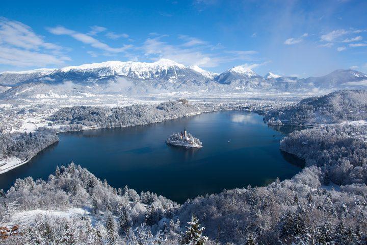 Lake Bled in winter | Photo: Rožle Bregar