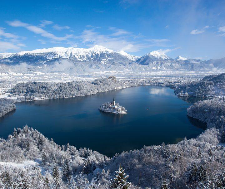 Lake Bled in winter   Photo: Rožle Bregar
