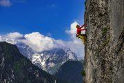 Rock climbing in Blaščeva skala | Photo: Marko Prezelj